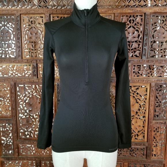 Patagonia Black Half Zip Pullover XS